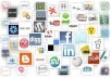 set Up 80+ Social and Web 2,0 Accounts Incl Linking to Hubs like Hootsuite, Onlywire, Scoop, Posterous, Seesmic and More, plus Email