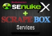 use SEnuke XCr and Scrapebox to create High Quality Backlinks for your Site ★Penguin Friendly SEO Service
