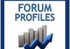 create 50 High PR WEB 2.0 + 10,000 Forum Profiles + 500 EDU Backlinks to them+ Ping
