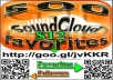 Give u 2,000+ SoundCloud Favorites on up to 5 TRACKS
