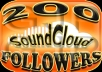 Deliver 1,500+ SoundCloud Followers & 2,500 Favorites on your Profile & Track