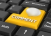 create 10000 Blog Comments Blast In 24 Hours