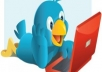 give you 25500+ real and active twitter follower in 24 hours