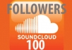provide you 1000 real human sound cloud Followers