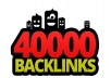 make 40000 blog comment backlinks just only