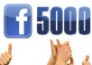 give  5000+ facebook subscriber to your fb profile/fan page within 12 hours
