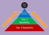 build eminent backlink pyramid with 5000 profiles,most dofollow,include some edu gov,good seo for youtube by using Xrumer SEnuke Scrapebox all within 5 days