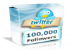 Get +100,000 [100k] Twitter Followers