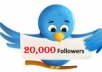 Get +20000 [20k] Twitter Followers [instantly]