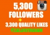 add 10000 INSTAGRAM followers and 6000 instagram likes to your instagram account instantly 
