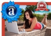 give you amazing 27 alexa ★★★★★ star review for your website or blog from different users
