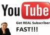 give you 130+ youtube real subscriber to your youtube channel ( offer limited )