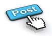 write 10 guest posts and publish it on PR2+ blogs on your behalf