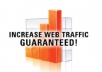 Deliever 5100+ Real Human Visitors To Your Website To Increase Rankings Of your Website