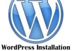 install wordpress with theme and all plugins suggested by you