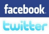 give you 700+ USA Facebook Fans on your Fan page and I will Tweet your Page or Website to 200,200+ Twitter Followers