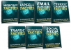 give 350 powerful sales and marketing tactics you can implement to your business right now For More Profit 7 ebooks MRR and sales page 