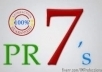 make you 1 actual PR7 and 20 PR6 links, yes its PR7 and PR6 