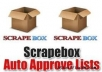 give you my list of 1,000,000 blogs to post to using scrapebox fast poster