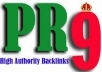 create 10 Top Quality Backlinks from !! ® PR9 Authority Sites in Real Angela Style Penguin Update Friendly for
