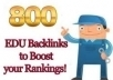 ♫♫ Get 800 EDU seo links for your website through blog comments ♫♫