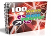show you 100 ways to drive TARGETED traffic to your site( with special offer )