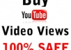 give you  2000+ REAL YouTube views +50 Subscribers +50 Likes +50 Favorites  [Real People No Bots]