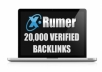 provide 25000 verified forum profile backlinks (buy 3 and get 1 free) limited time offer only