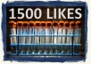 add 1500 Facebook fans and likes in 24 hours