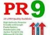manually create 10 ►PR9 Top Quality SEO Friendly Backlinks from ® 10 Unique Pr 9 Authority Sites + Panda and Penguin Friendly + indexing- robservices