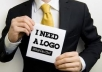 design a professional logo for your business, website, service just