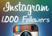 give you 1000 Instagram Followers WITHOUT Your Password only