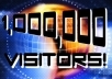 Show you How to Get 1,000,000 Visitors Free, and I will Give you 59 Gigs With a Huge Bonus