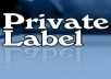 Give you 101 Ways To Expand Your Private Label Resell Profits, and I will Give you 59 Gigs With a Huge Bonus