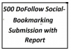do Social BOOKMARKING Over 500 Social Bookmarking Websites Most of them are DoFollow Best Social Bookmark Submission Done Manually