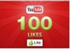 give you 100+ YOUTUBE likes for your video in 12 hours