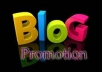 do 20 high PR niche related Blog comments for