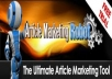 give you 50,000 article direcories specifically for article marketing robot in amrx format