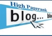 awesome list of 70,000 high PR blogs to blast with Scrapebosx and boost your search engine rankings and traffic