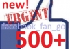 provide you 500++ USA profiled facebook Iikes to your FB fanpage
