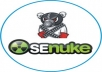 seNuke X your site to 524 backlinks and bring to 1st page Google for