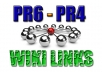 set Up a Solid, Powerful Link Wheel from 6 PR6PR4 Article Directories Dominated by 400+ Wiki seo Backlinks for