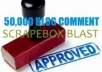 blast 50000 blog comments to increase your position in Google search