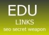 create 500 EDU backlinks through blog comments Split allowed in max 12 hours