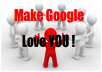 Make Google Love You by adding your site to more than 600 social bookmarks