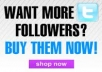 give you 25000 real looking twitter followers in your twitter acccount - top seller