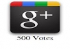 Give you 500 Google +1 within 2 days