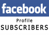 Get You 100 Real Human Facebook Subscribers For Your Profile