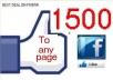 add 1500 Facebook fans and likes in 48 hours