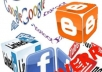 give you 30 tweet ,30 g+1 vote ,30 facebook like in your site within 24hours